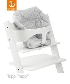Подушка Mini для STOKKE TRIPP TRAPP Cloud Sprinkle, цвет: серый
