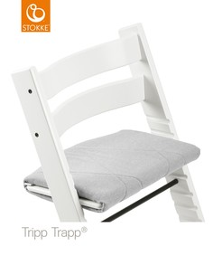 Подушка для STOKKE TRIPP TRAPP Slate Twill, цвет: серый