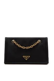 Черная сумка из нейлона Prada