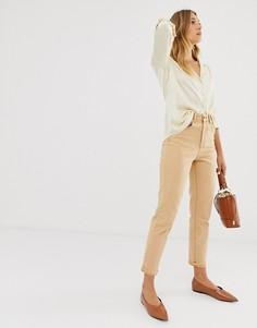 Оранжевые джинсы в винтажном стиле узкого кроя ASOS DESIGN Farleigh