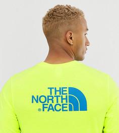 Желтый лонгслив The North Face Easy эксклюзивно для ASOS - Желтый