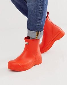 Оранжевые сапоги Hunter Original - Оранжевый