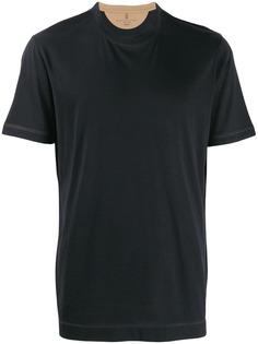 Brunello Cucinelli футболка узкого кроя с короткими рукавами