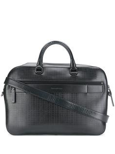 Ermenegildo Zegna сумка для ноутбука с тиснением