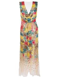 Elisabetta Franchi коктейльное платье с пайетками