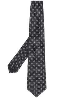 Giorgio Armani галстук с геометричным узором