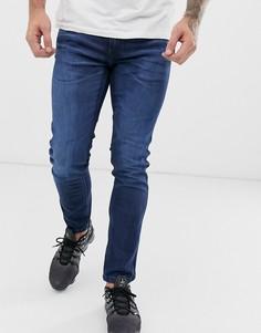 Выбеленные джинсы скинни HUGO 734 - Темно-синий