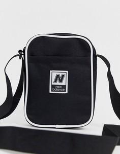Черная классическая сумка через плечо New Balance - Черный