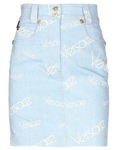 Джинсовая юбка Versace