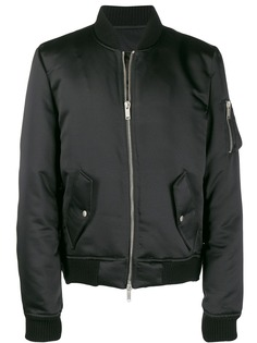 Unravel Project атласная куртка-бомбер