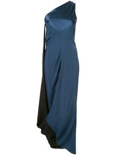 Bianca Spender вечернее платье дизайна колор-блок