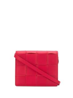 Bottega Veneta поясная сумка с плетением Intrecciato