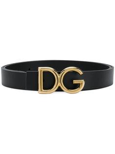 Dolce & Gabbana ремень с пряжкой DG