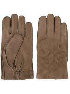 Orciani перчатки с видным швом