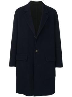 Ami Alexandre Mattiussi пальто с накладными карманами