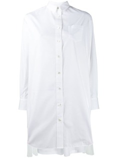 Sacai платье-рубашка на молнии