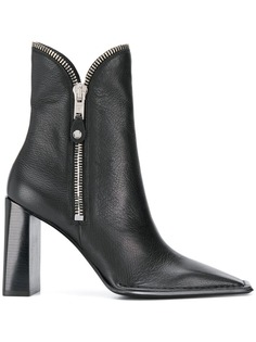 Alexander Wang zip detail ankle boots