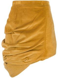Y/Project вельветовая юбка асимметричного кроя Y.Project