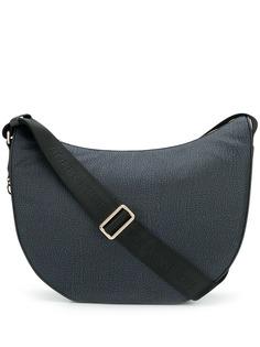 Borbonese сумка на плечо с анималистичным принтом