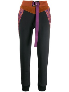 Just Cavalli спортивные брюки в стиле колор-блок
