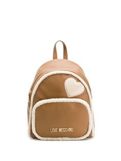 Love Moschino рюкзак с фактурной отделкой