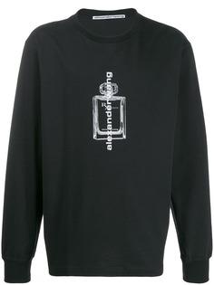 Alexander Wang свитер с принтом