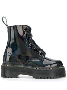 Dr. Martens ботинки Mollyrainbow в стиле милитари
