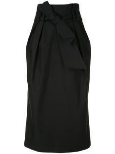 Gabriela Hearst юбка-карандаш с бантом