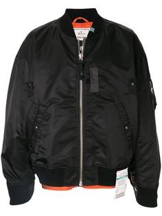 Maison Mihara Yasuhiro куртка-бомбер на молнии
