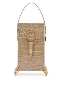 Бежевая сумка с декоративными элементами Alena Akhmadullina