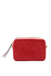 Красная сумка с монограммами Fendi