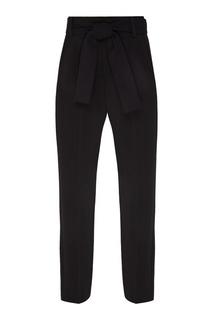 Черные брюки с бантом Maje