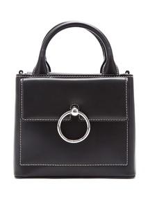 Черная сумка с кольцом Claudie Pierlot