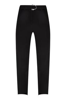 Укороченные черные брюки Maje