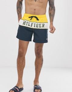 Шорты для плавания с логотипом Tommy Hilfiger - Темно-синий