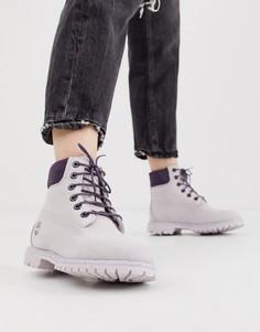 Кожаные премиум-ботинки Timberland - Фиолетовый