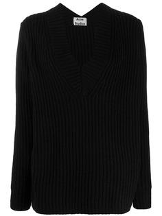 Acne Studios boxy v-neck sweater