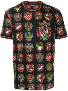 Dolce & Gabbana футболка с принтом
