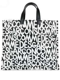 Comme Des Garçons сумка-шопер с логотипом