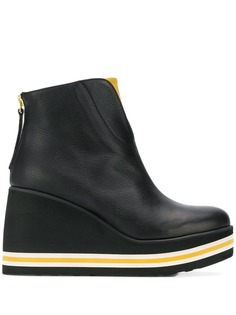 Paloma Barceló Sonya wedge ankle boots