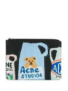 Acne Studios Malachite L Vase document case