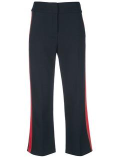 Veronica Beard укороченные брюки с лампасами