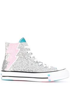 Converse высокие кеды на шнуровке
