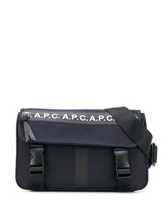 A.P.C. logo belt bags