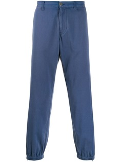 Gucci брюки с присборенными манжетами