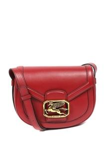 Красная сумка-кроссбоди с логотипом Etro