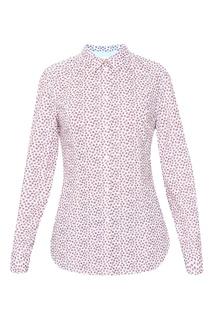 Рубашка из хлопка с узором Paul Smith