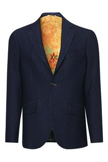 Синий пиджак Etro