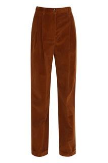 Вельветовые брюки Alberta Ferretti