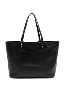 Черная фактурная сумка Etro